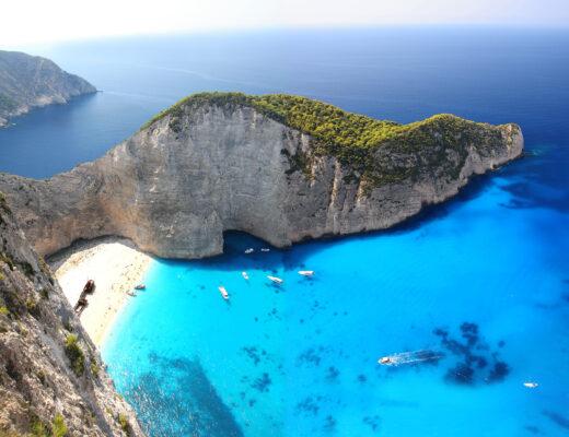 Griechenland Zakynthos Navagio