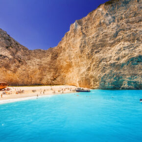 Griechenland: 7 Tage auf Zakynthos im TOP 4* Hotel mit All Inclusive, Flug & Transfer nur 418€