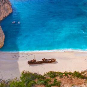 Frühbucher: 7 Tage Inselurlaub auf Zakynthos im TOP 4* Hotel mit All Inclusive, Flug & Transfer nur 423 €