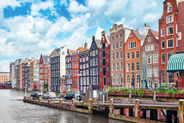 Holland Amsterdam Fassaden
