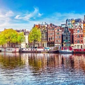 Übernachten in der Schiffskabine: 2 Tage Städtetrip Amsterdam inkl. Frühstück nur 26€