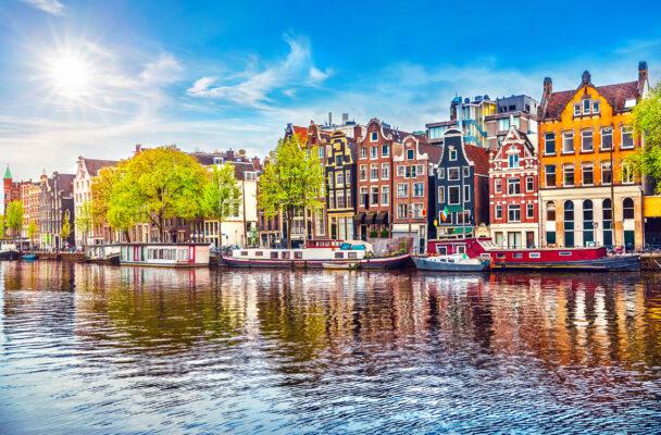 Holland Amsterdam Fluss