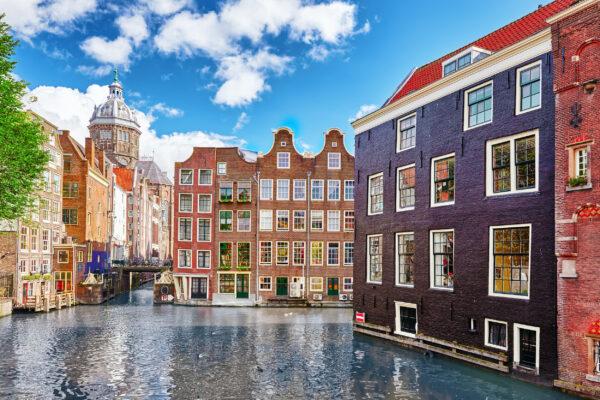 Holland Amsterdam Häuser