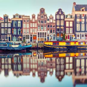 2 Tage Städtetrip Amsterdam am Wochenende im TOP 4* Hotel inkl. Frühstück ab 37€