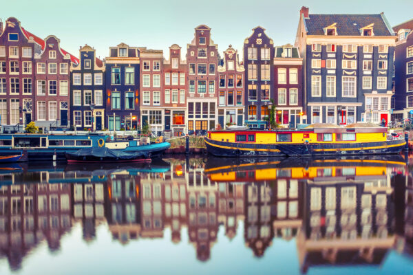 Holland Amsterdam Singel Kanal