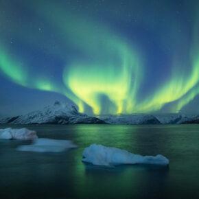 Island Aurora Lichter