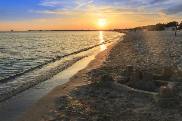 Italien Apulien Strand
