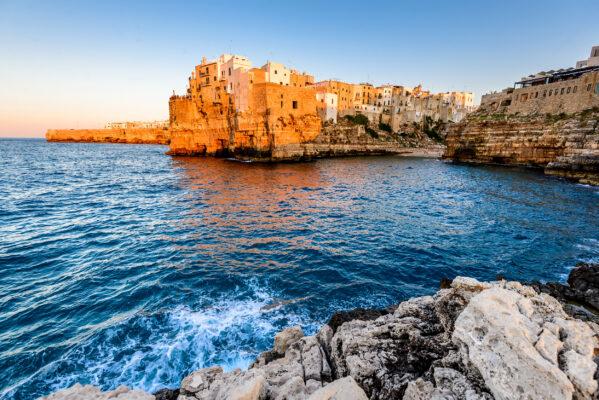Italien Apulien Sonnenuntergang