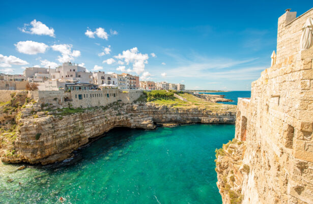 Italien Apulien Dorf
