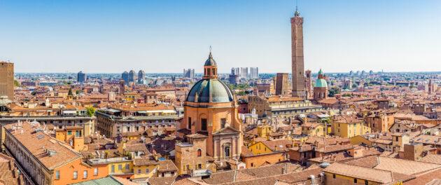 Italien Bologna Panorama