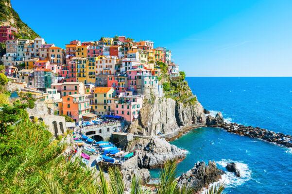 Italien Cinque Terre Außenansicht