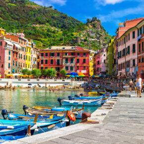 Kurztrip nach Bella Italia: 4 Tage Cinque Terre mit TOP Apartment & Flug nur 79€