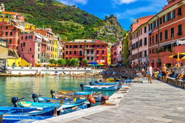 Italien Cinque Terre Boote
