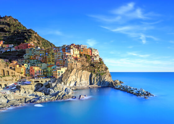 Italien Cinque Terre Meer