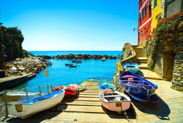 Italien Cinque Terre Steg