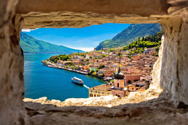 Italien Gardasee Ausblick