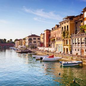 3 Tage am Gardasee im TOP 3* Hotel mit Halbpension plus, Weinprobe & Wellness ab 69€