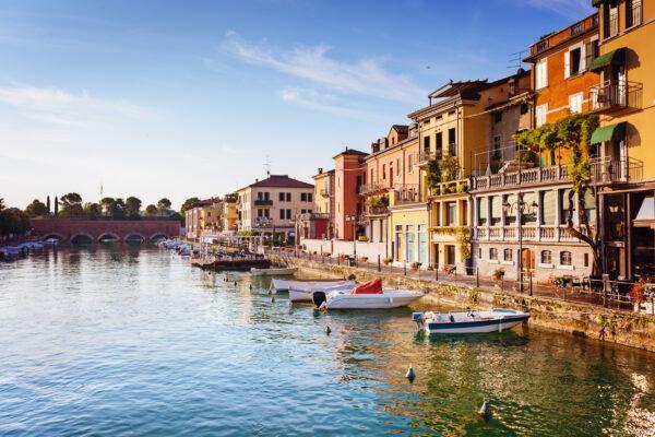 Italien Gardasee Peschiera Boote