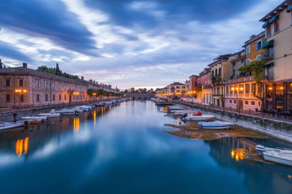 Italien Gardasee Peschiera Port