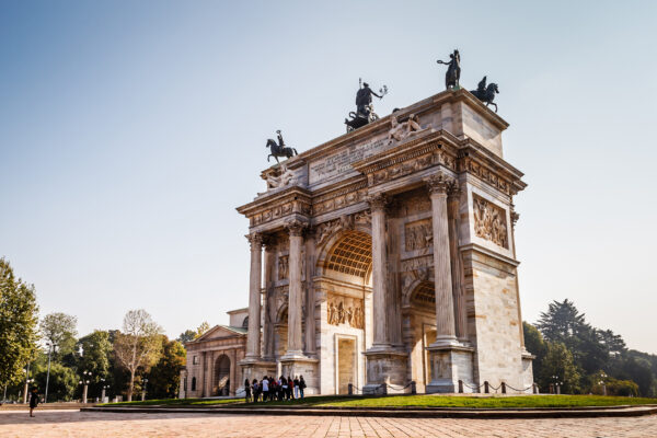 Italien Mailand Bogen