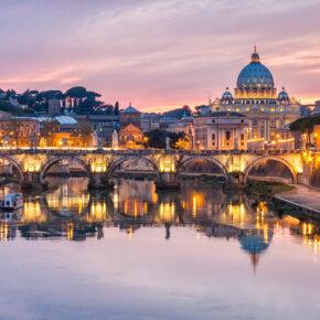 Wochende in Rom: 4 Tage Städtetrip mit Unterkunft, Frühstück & Flug nur 49€