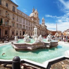 Wochenendtrip im Sommer: 3 Tage Rom mit 3* Hotel & Flug nur 55€
