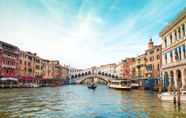 Italien Venedig Rialto Brücke