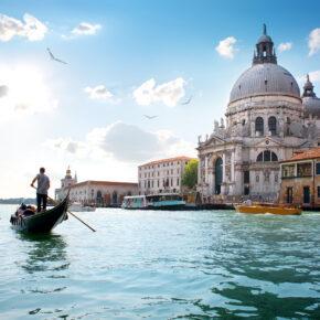Italien Venedig Grand Canal Gondel