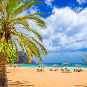 Kanaren: 7 Tage Teneriffa im 4* Hotel mit All Inclusive, Flug & Zug nur 434€
