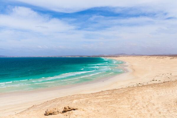 Kap Verde Boavista Beach