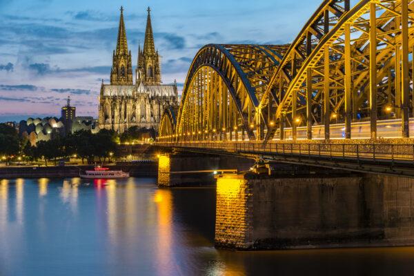Köln abends