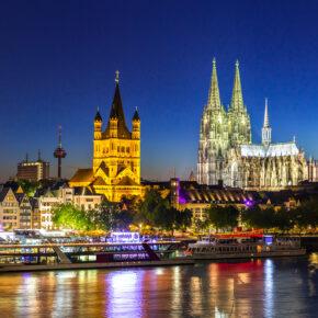 Kurztrip: 2 Tage Köln (auch über Karneval!) im TOP 3* Hotel mit Frühstück nur 28€