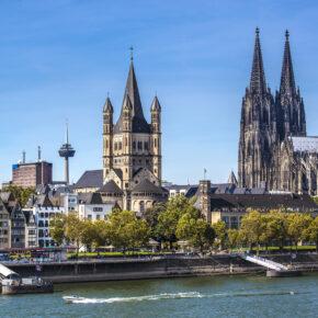 Köln Gutschein: 3 Tage am Wochenende im TOP 4* Hotel mit Frühstück nur 79,99€