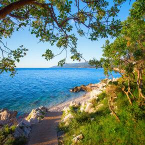 Kroatien Istrien Küste