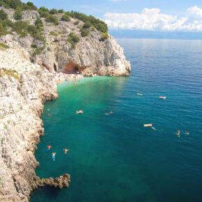 Kroatien Istrien Meer