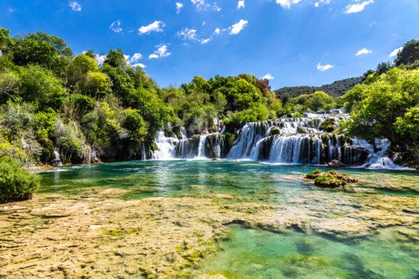 Kroatien Krka Wasserfall