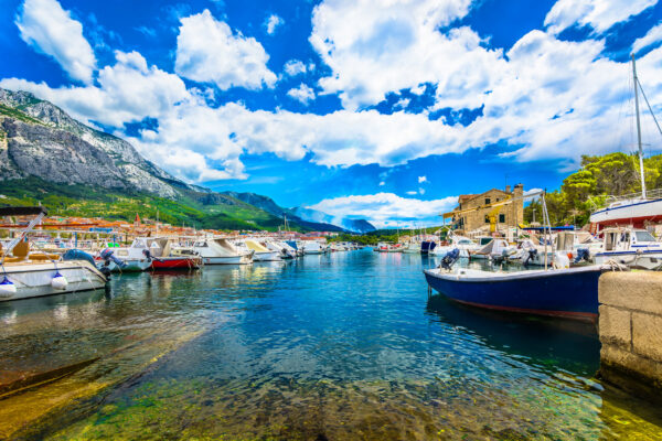 Kroatien Makarska Hafen