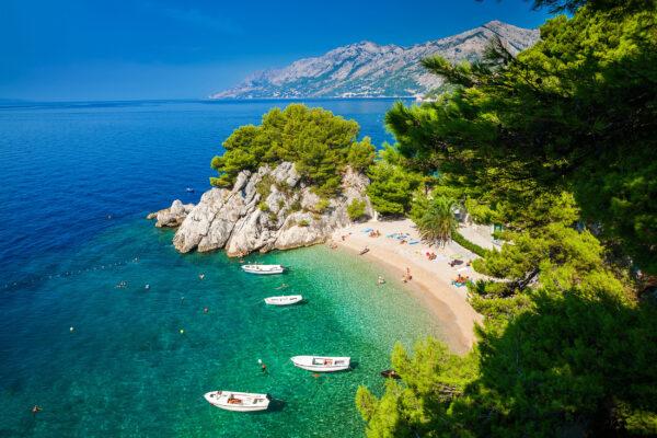 Kroatien Makarska Strand