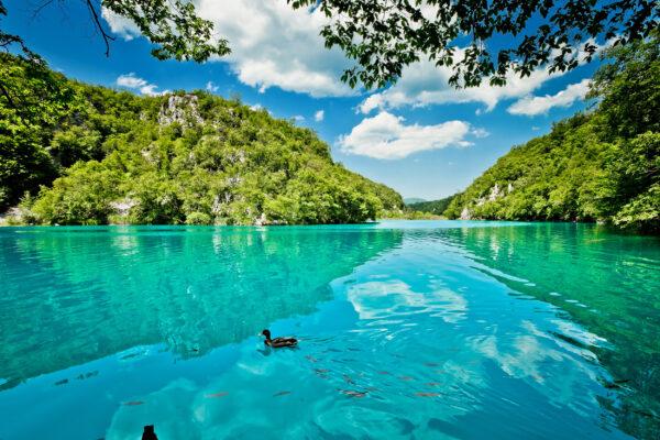 Kroatien Plitvice See