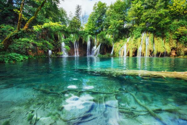 Kroatien Plitvice Wasserfälle