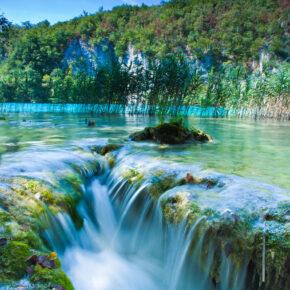 Plitvicer Seen im Sommer: 8 Tage wunderschönes Kroatien mit Unterkunft & Flug nur 79€