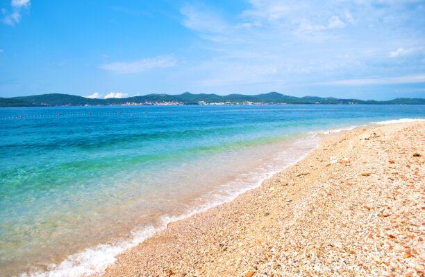 Kroatien Zadar Strand