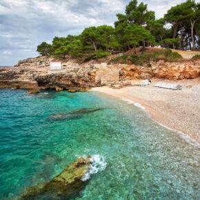 Kroatien im Sommer: 8 Tage im TOP Studio mit Meerblick und Flug nur 90€