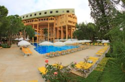 Türkei: 7 Tage im TOP 4* Hotel am Strand mit All Inclusive, Flug, Transfer & Zug nur 197€