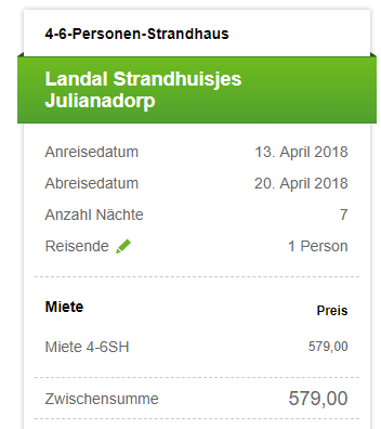 7 Tage Holland Deal
