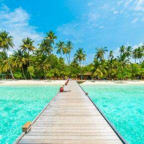 Malediven zur besten Reisezeit: 10 Tage im 4.5* Hotel mit Flug, Transfer & Vollpension für 1759€