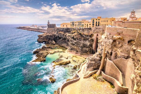 Marokko Melilla Strand