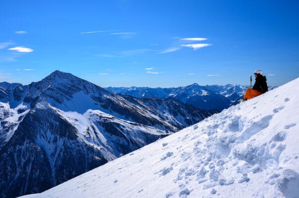 Österreich Alpen Ski
