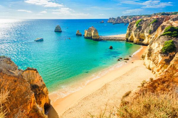 Portugal Algarve Ponta da Pedade