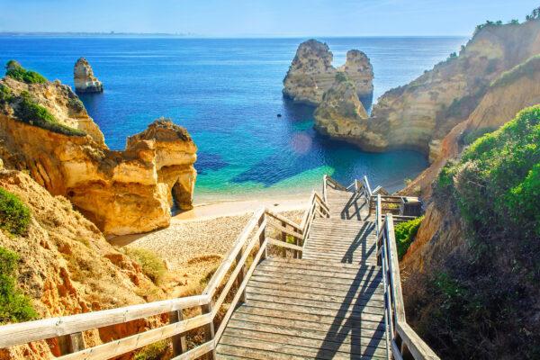 Portugal Algarve Praia do Camilo
